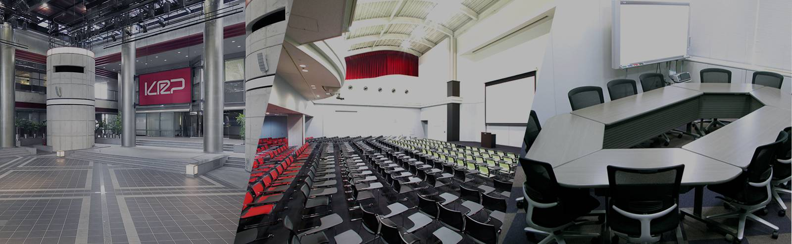 Room sizes range from 30m2 to 365m2, ready for conferences and event of various scales.